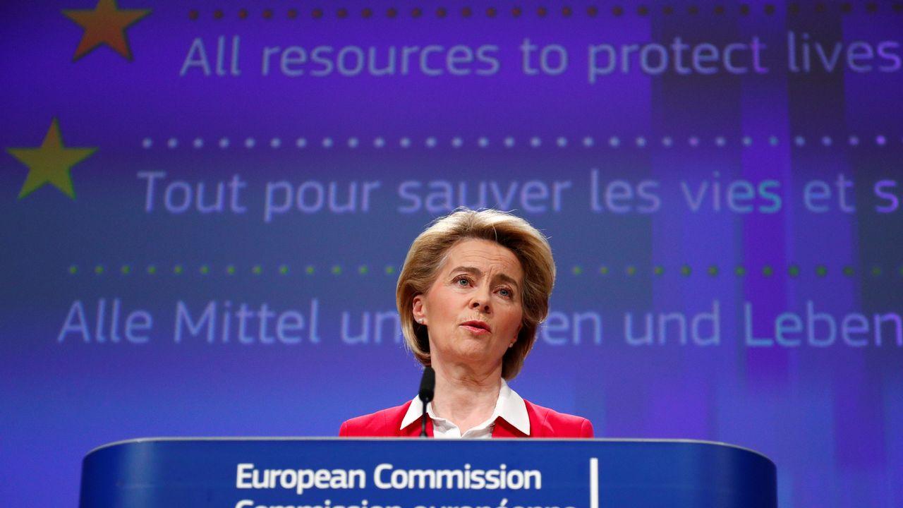 La présidente de la Commission européenne, Ursula von der Leyen, a présenté son plan de relance. [François Lenoir - AFP]