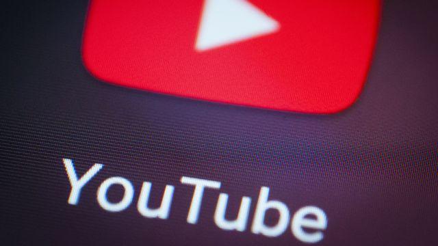 Le logo YouTube. [Jaap Arriens  - AFP]