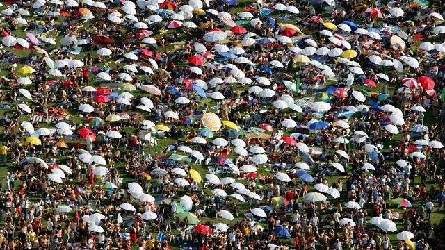 La Suisse pourrait compter plus de 10 millions d'habitants en 2050. [Monika Flueckiger - Keystone]