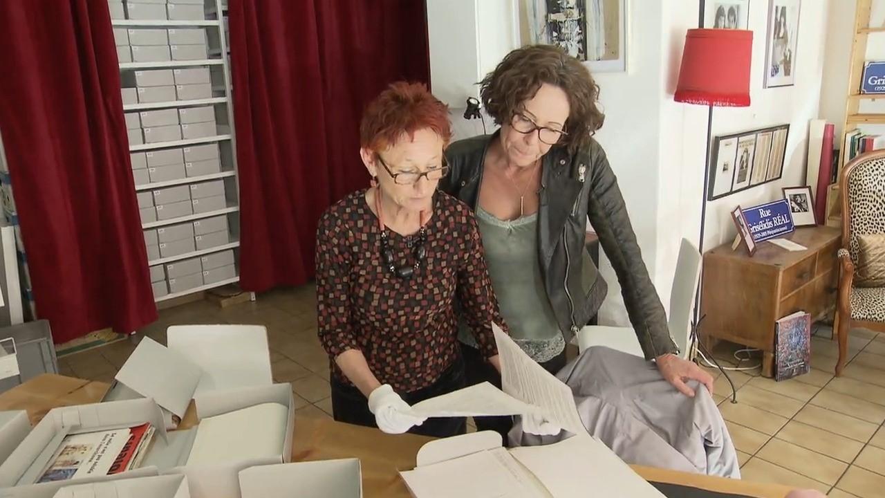 Les archives de Grisélidis Réal, figure de la défense des travailleurs du sexe et écrivaine, ouvertes au public. [RTS]