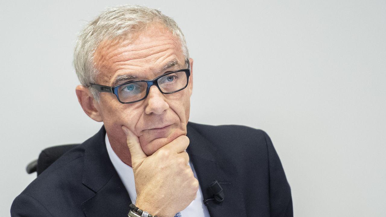 Urs Rohner a été réélu à la présidence de Credit Suisse. [Ennio Leanza - Keystone]