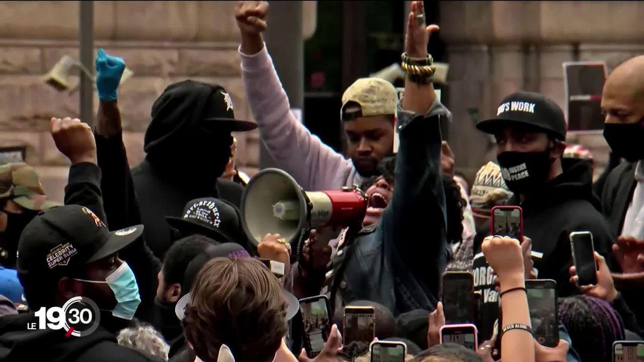 Les émeutes s'étendent aux Etats-Unis suite au décès d'un afro-américain arrêté par des policiers blancs [RTS]