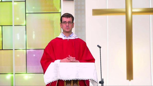 Messe de Pentecôte en direct et en Eurovision depuis le studio virtuel Charleroi en Belgique [RTS]
