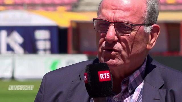 Interview: Jacky Delapierre, directeur Athletissima [RTS]