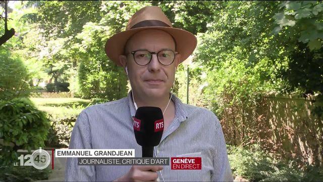 Le journaliste et critique d'art Emmanuel Grandjean sur l'artiste Christo. [RTS]