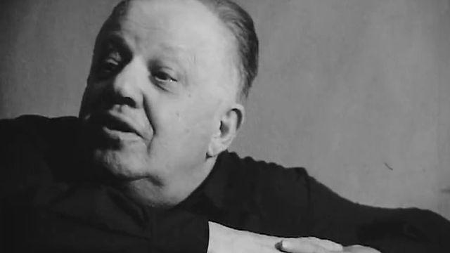 Jean Villard Gilles en 1967 [RTS]