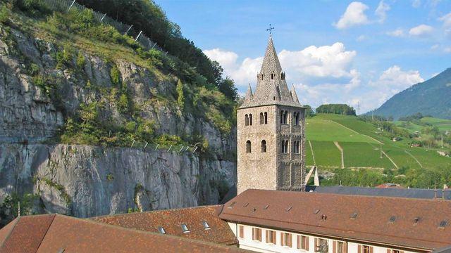 L'Abbaye de St-Maurice (VS). [©O. Roduit ]