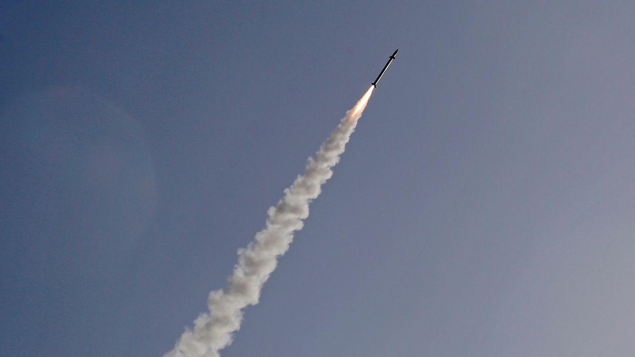 Israël mène des tests de missiles balistiques d'une portée de 400 km. [Gil Cohen-Magen - AFP]