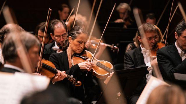 Quelques musiciens de l'Orchestre de la Suisse Romande. [Niels Ackermann - OSR]