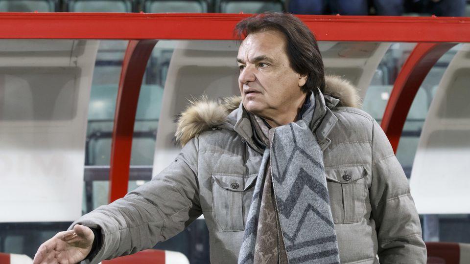 Christian Constantin et le FC Sion veulent une clarification sur un éventuel abus de position dominante de la SFL. [Salvatore Di Nolfi - Keystone ]