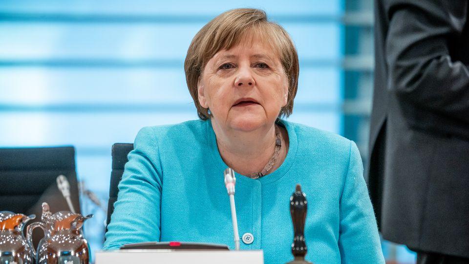 Merkel annonce un plan de relance allemand de 130 milliards d'euros [Michael Kappeler - AFP]