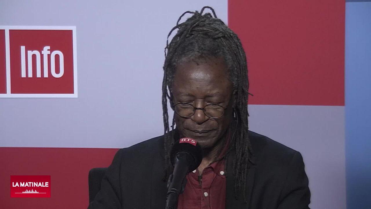 Kanyana Mutombo s'exprime sur la discrimination raciale en Suisse (vidéo) [RTS]