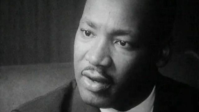 Martin Luther King en 1962 [RTS]