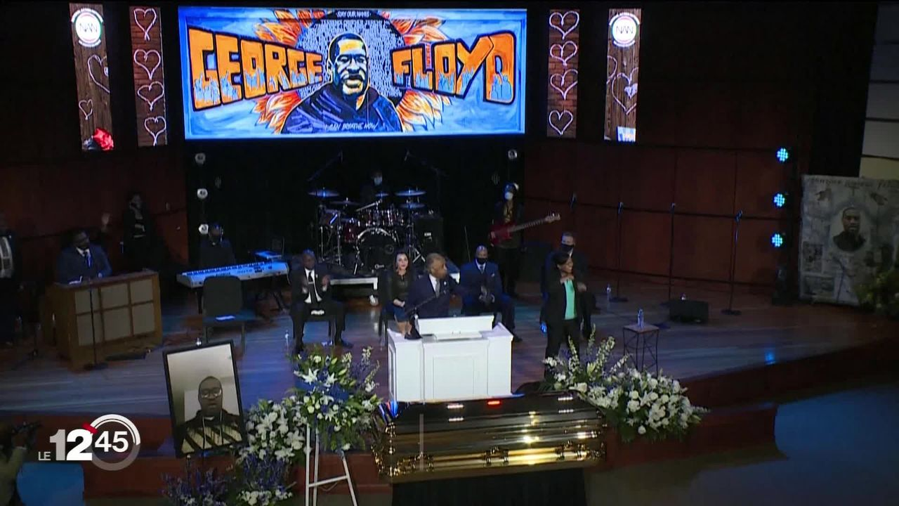 Une cérémonie en hommage à George Floyd a eu lieu à Minneapolis. Avec un discours fort contre les discriminations raciales [RTS]