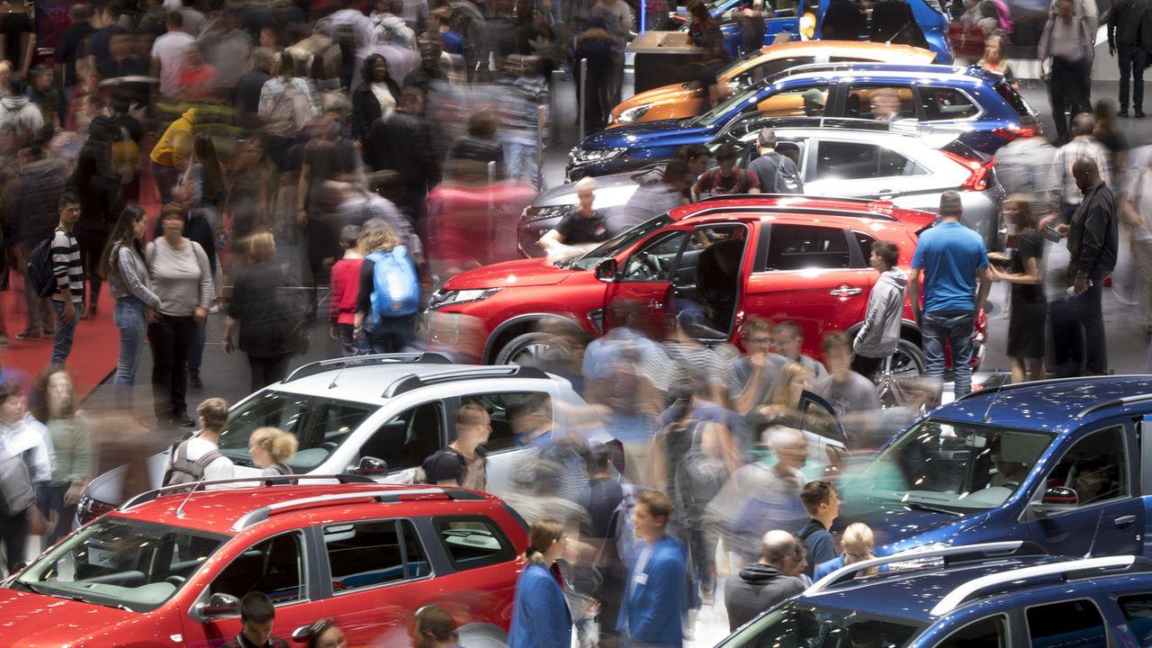 L'Etat de Genève octroie un prêt de 16,8 millions de francs au Salon international de l'automobile. [Laurent Gillieron - Keystone]