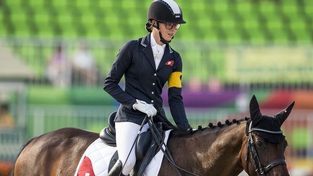 Céline van Till a pris part aux Jeux paralympiques de Rio en 2016. [Alexandra Wey - Keystone]