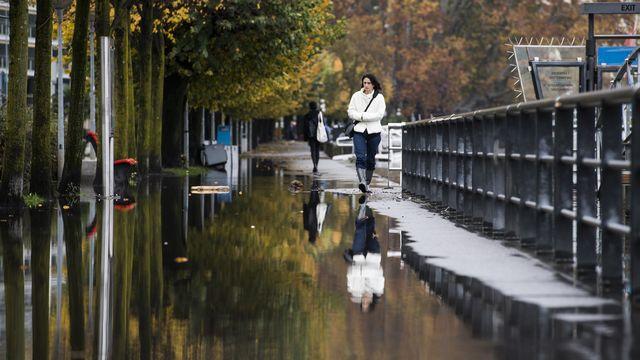 Le Tessin craint de nouvelles inondations. [Ti-Press/Alessandro Crinari - Keystone]