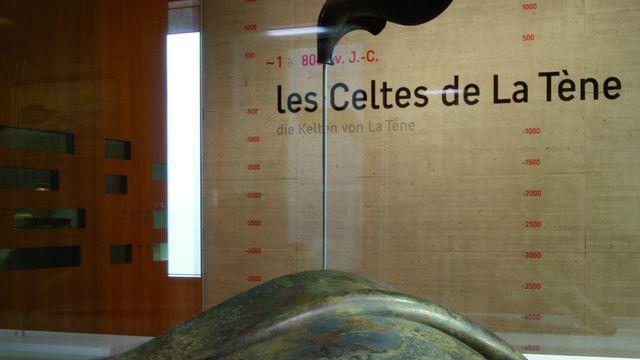 Le site archéologique de La Tène, situé sur les rives du Bas-Lac de Neuchâtel en Suisse. [Marc Juillard - Latenium]