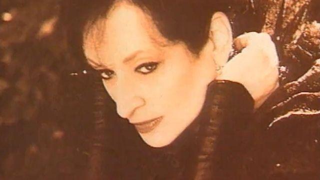 La chanteuse Barbara