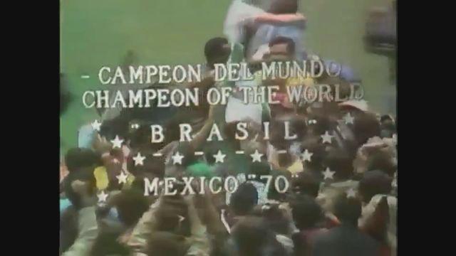 Foot, Coupe du monde 1970: finale Brésil-Italie 4-1 (1-1) [RTS]