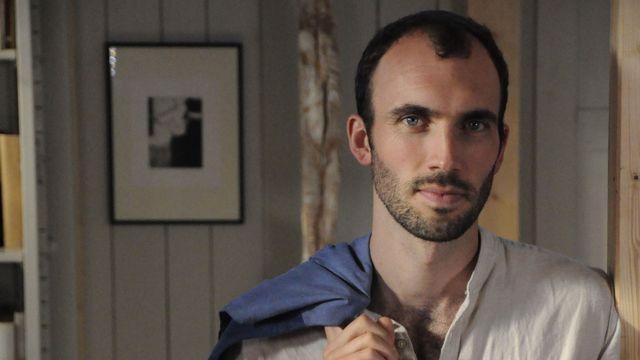 L'écrivain Alexandre Lecoultre. [Baptiste Aubert - DR]