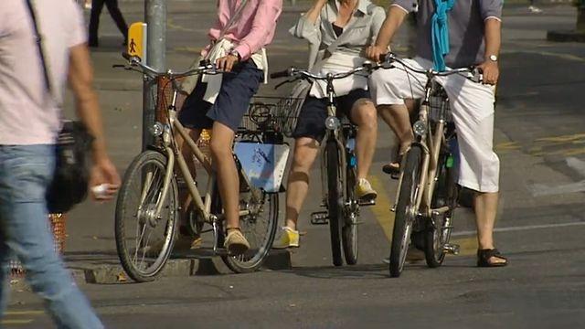 Tous à vélo. [RTS]