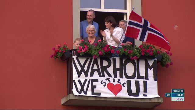 300m haies: Karsten Warholm (NOR) s'offre un record du monde (33.78) ! [RTS]
