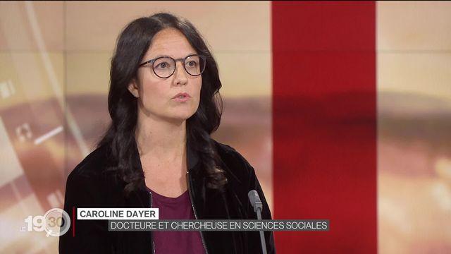 La chercheuse Caroline Dayer revient sur l'acceptation du mariage pour tous par le National [RTS]