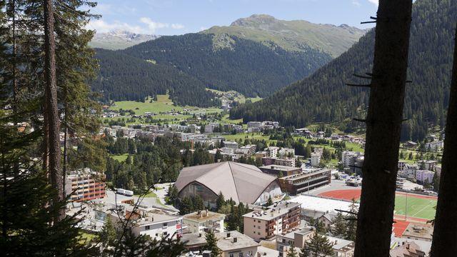 Davos accueillera un centre de recherche sur le changement climatique. [Arno Balzarini - Keystone]