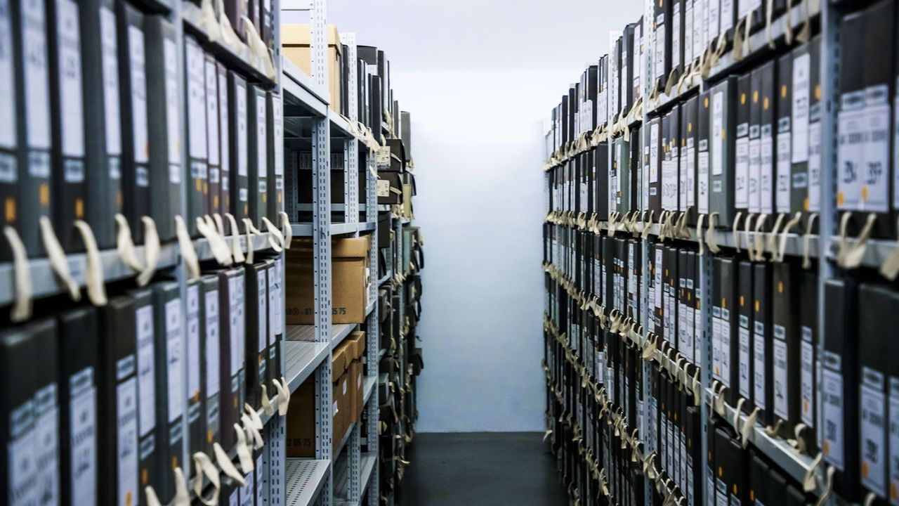 Les Archives nationales françaises. [Christophe Petit Tesson - EPA]