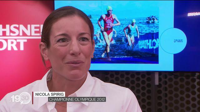 Triathlon: Nicola Spirig participiera au JO de Tokyo. [RTS]