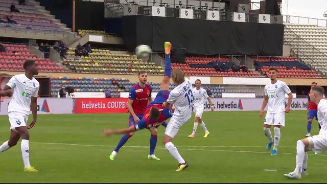 1-4 de finale, Lausanne-Sport – FC Bâle (2-3 ap): le LS s'incline en prolongation face à Bâle [RTS]