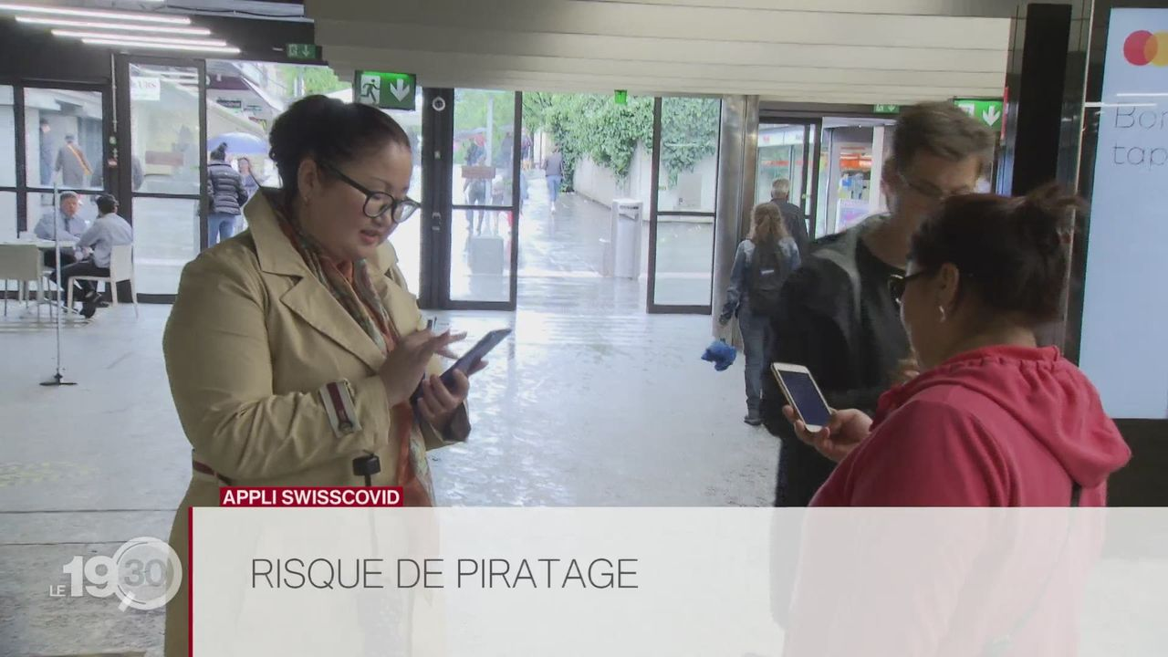 Risque de piratage pour l'application SwissCovid [RTS]