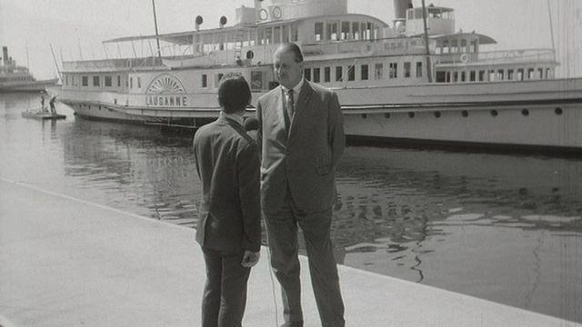 Itw du directeur de la CGN Jean Meyer en 1969. [RTS]