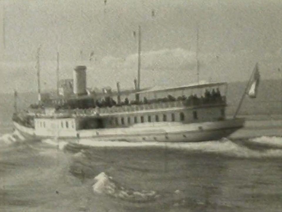 Archives anonymes des bateaux de la CGN. [RTS]