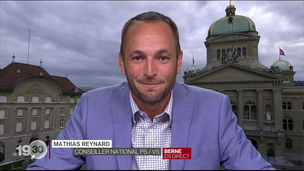 Le socialiste Mathias Reynard est candidat au Conseil d'Etat valaisan [RTS]