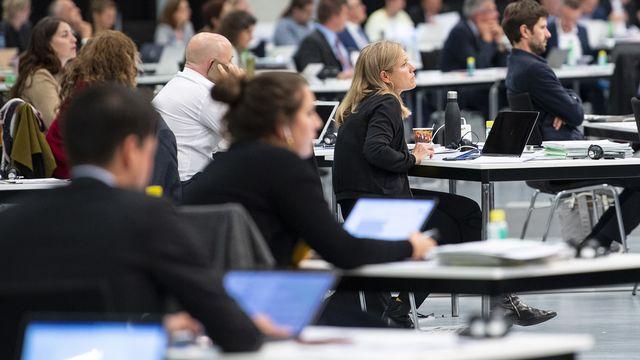 Les députés ont accepté de renforcer le droit pénal et la coopération internationale pour lutter contre le terrorisme. [Peter Schneider - KEYSTONE]