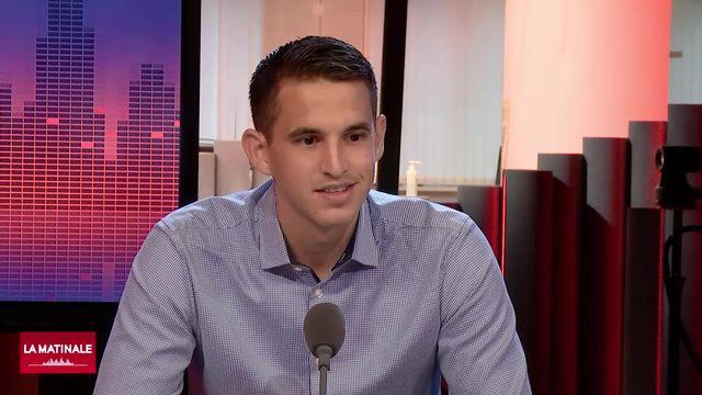 Lionel Tschudi, arbitre, sur la reprise du championnat suisse de football (vidéo) [RTS]