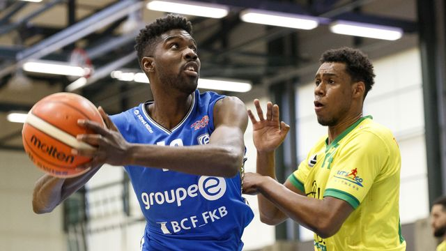Star du basket suisse de ces 10 dernières années, Babacar Touré ne sait pas encore s'il prolongera sa belle carrière. [Cyril Zingaro - Keystone]