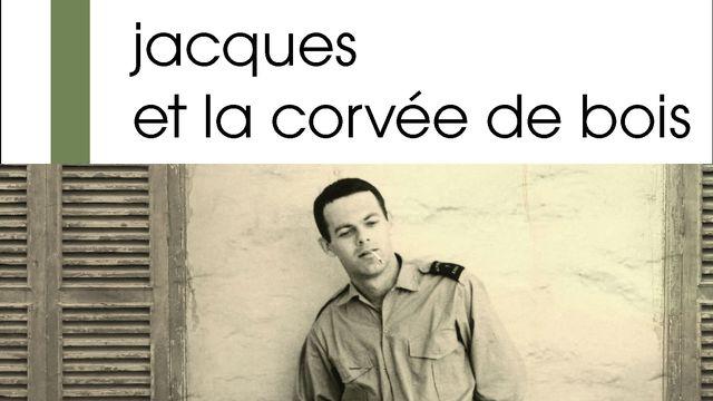 """La couverture du livre """"Jacques et la corvée de bois"""" de Marie-Aimée Lebreton."""