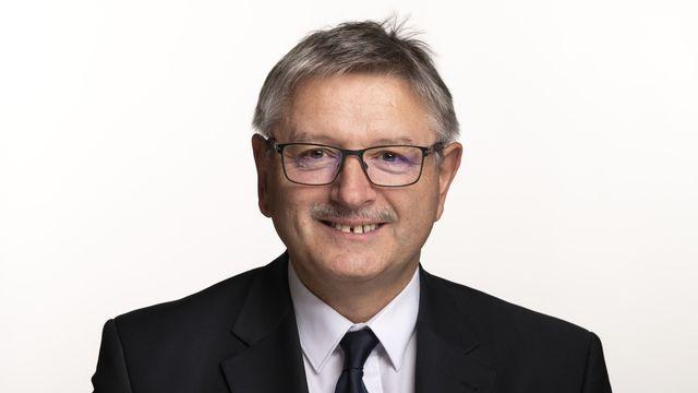 Charles Juillard, vice-président du PDC, conseiller aux Etats (PDC/JU).  [Alessandro della Valle - Keystone]