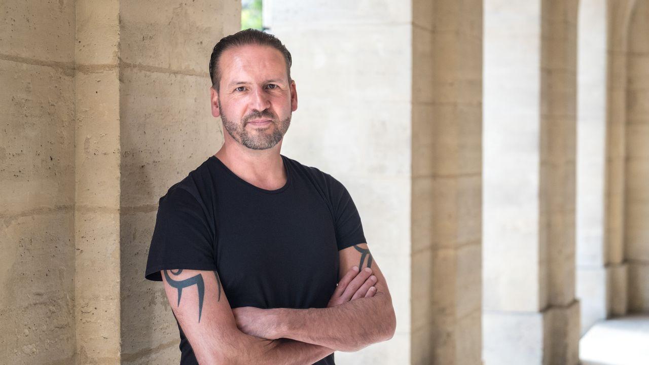 L'écrivain suisse Nicolas Feuz. [Alexis Fogel - Editions Slatkine]