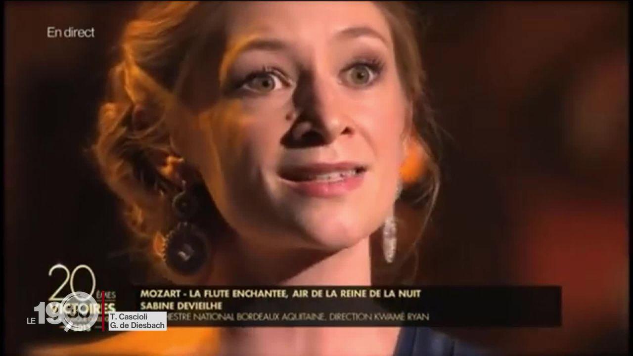 La soprano Sabine Devieilhe chante demain au Grand Théâtre de Genève. C'est le récital du déconfinement. [RTS]
