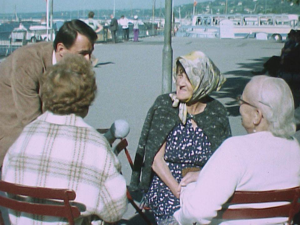 Les bords du lac Léman en 1970. [RTS]