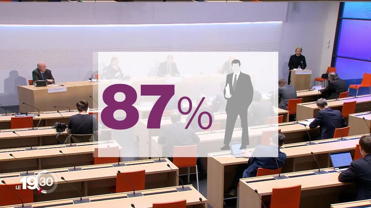 En matière d'égalité l'administration fédérale est à la traîne avec moins de 25% de femmes dans les hauts cadres. [RTS]