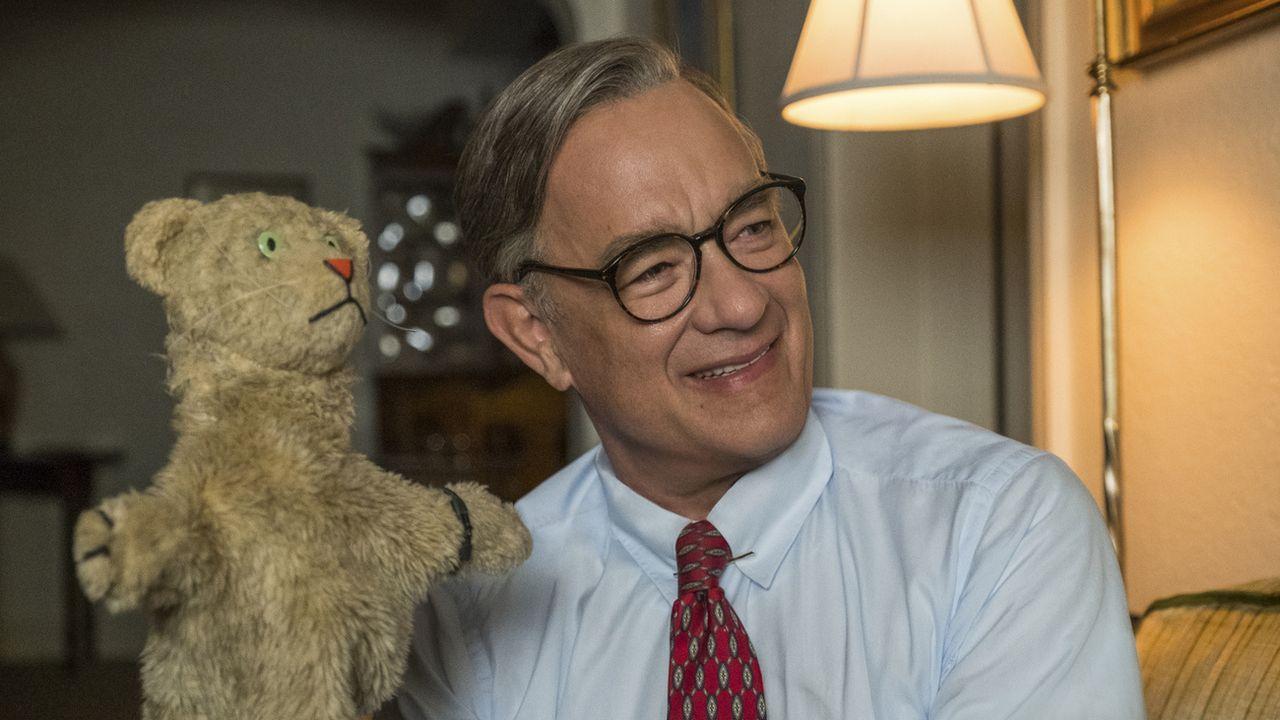 "Tom Hanks dans le film ""L'ami extraordinaire"". [Lacey Terrell - Keystone/Sony-Tristar Pictures via AP]"