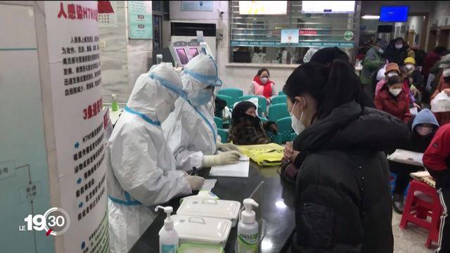 Sur la piste des origines du coronavirus en Chine [RTS]