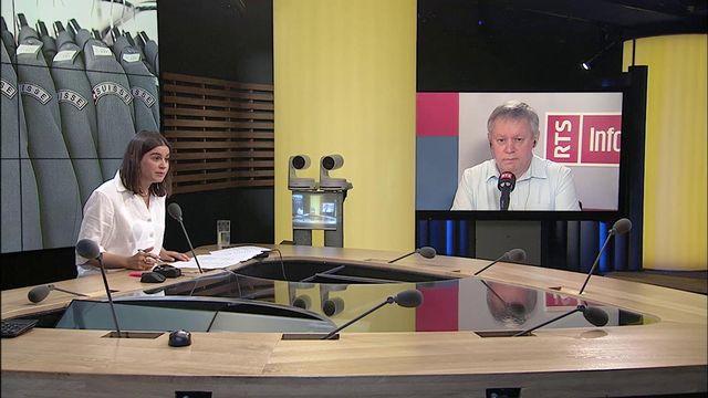 Débat entre Stefan Holenstein et Pierre-Alain Fridez. [RTS - RTS]