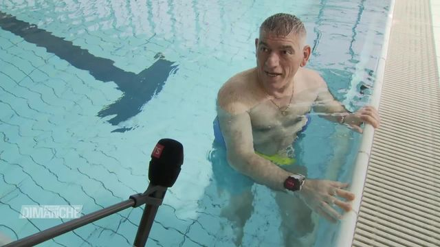 Reportage à la Clinique romande de réadaptation pour la reprise des séances thérapeutiques aquatiques [RTS]