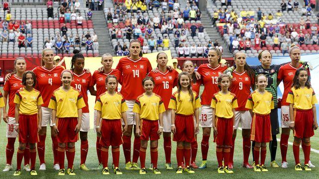 Les Suissesses ont participé à leur première Coupe du monde en 2015 au Canada. [Keystone]